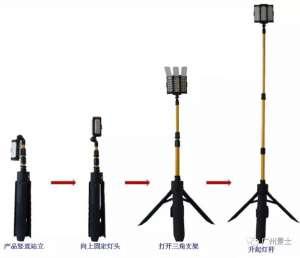 广州景士新型便携移动照明灯    防火防水坚固耐用濮阳